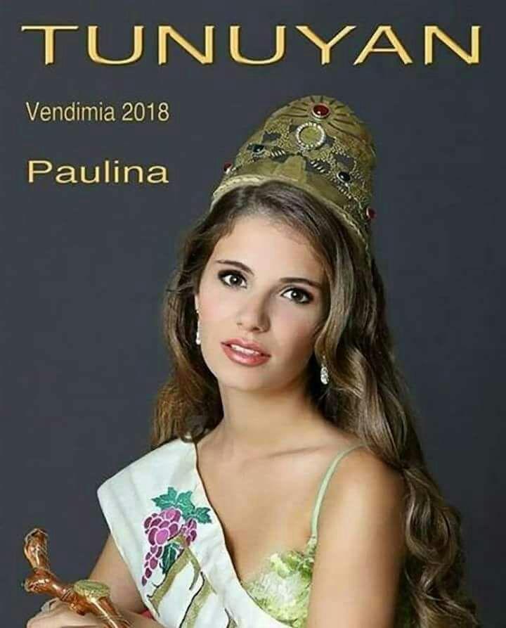 Paulina Cramero - Reina de la Vendimia de Tunuyán 2018