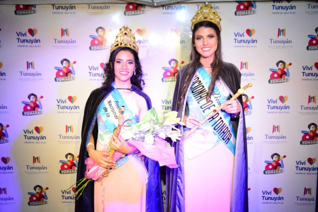 Reina de Tonada Florencia Godoy y la Virreina Eugenia Gomez